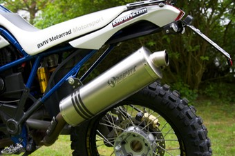 005-BMW HP2 Enduro - Akrapovic